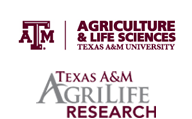 TAMU College of Agriculture and Life Sciences and Texas AgriLife Research logos