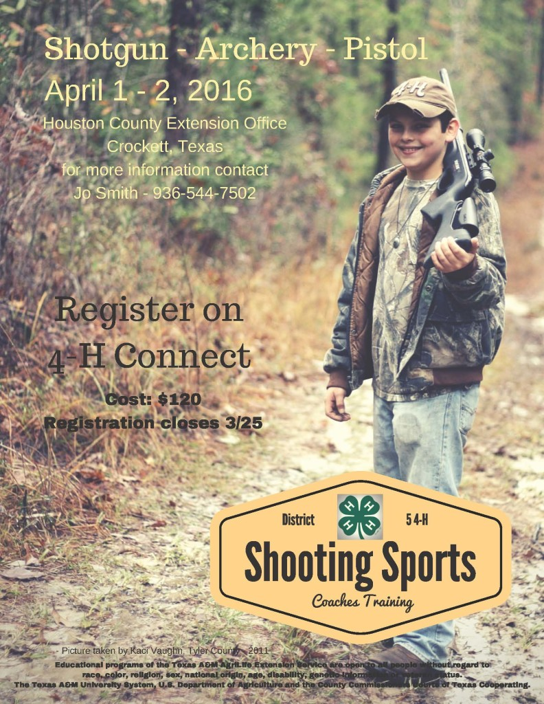 Shooting Sports flyer
