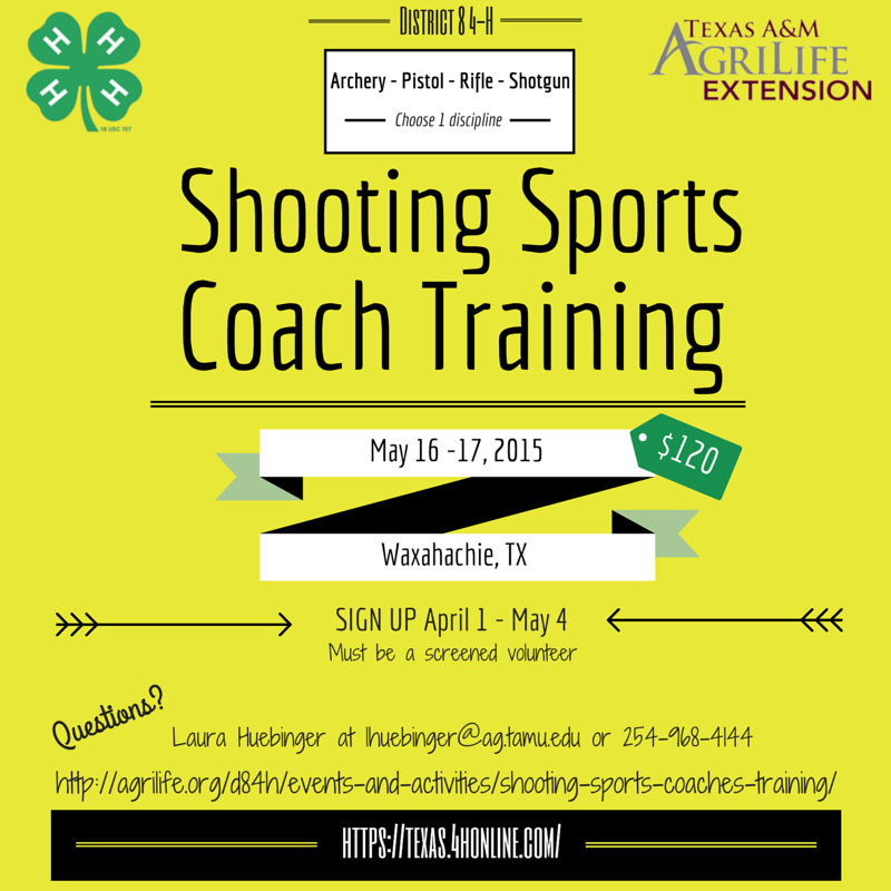 2015_D8_4-H_Shooting_Sports_Coach_Training_Social_Media_Waxahachie
