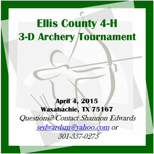 Ellis County 3D Archery Shoot