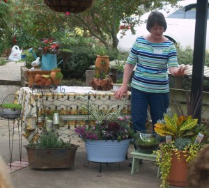 "Dee Bishop will share tips and advice on using plants to give your home ""A Warm Welcome"" on April 12 at the Tyler Rose Garden Center"
