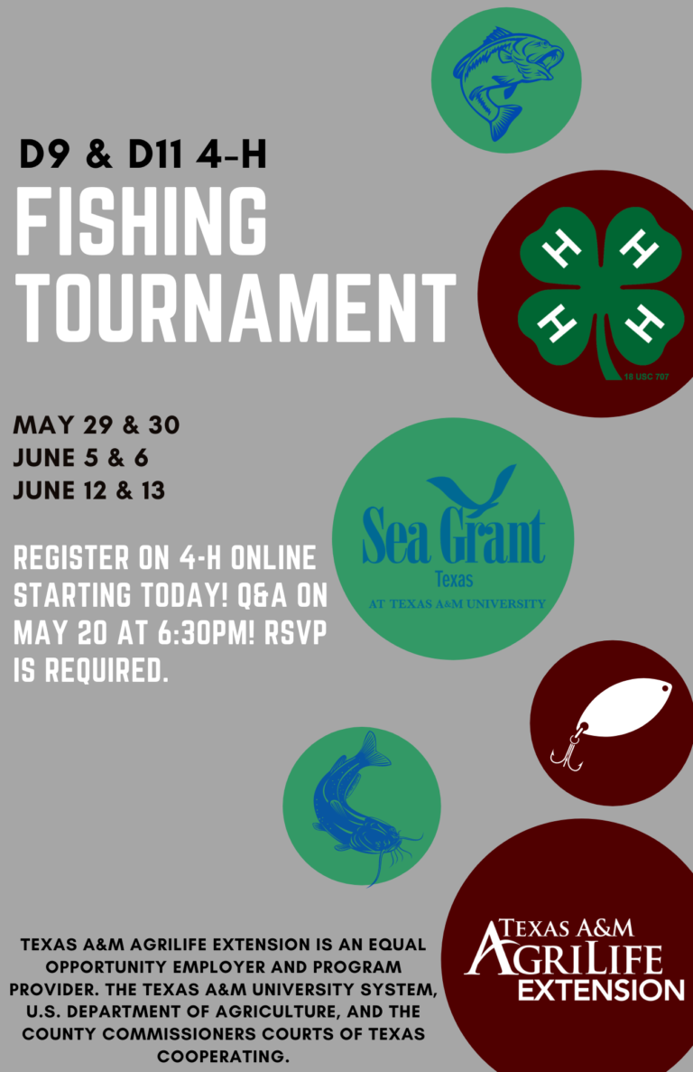 D9 & d11 4-H Fishing Tournament