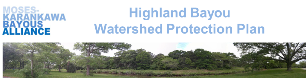 Highland Bayou Watershed Protection Plan