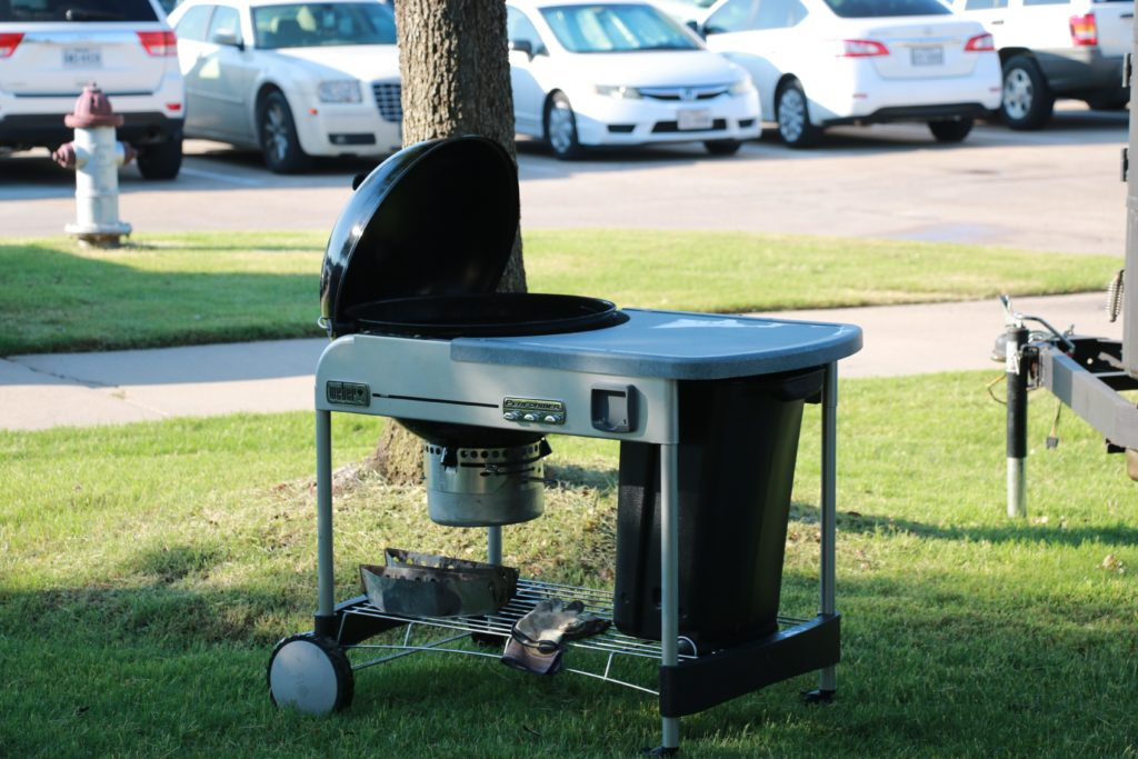 Weber Performer® Premium used for direct or indirect cooking