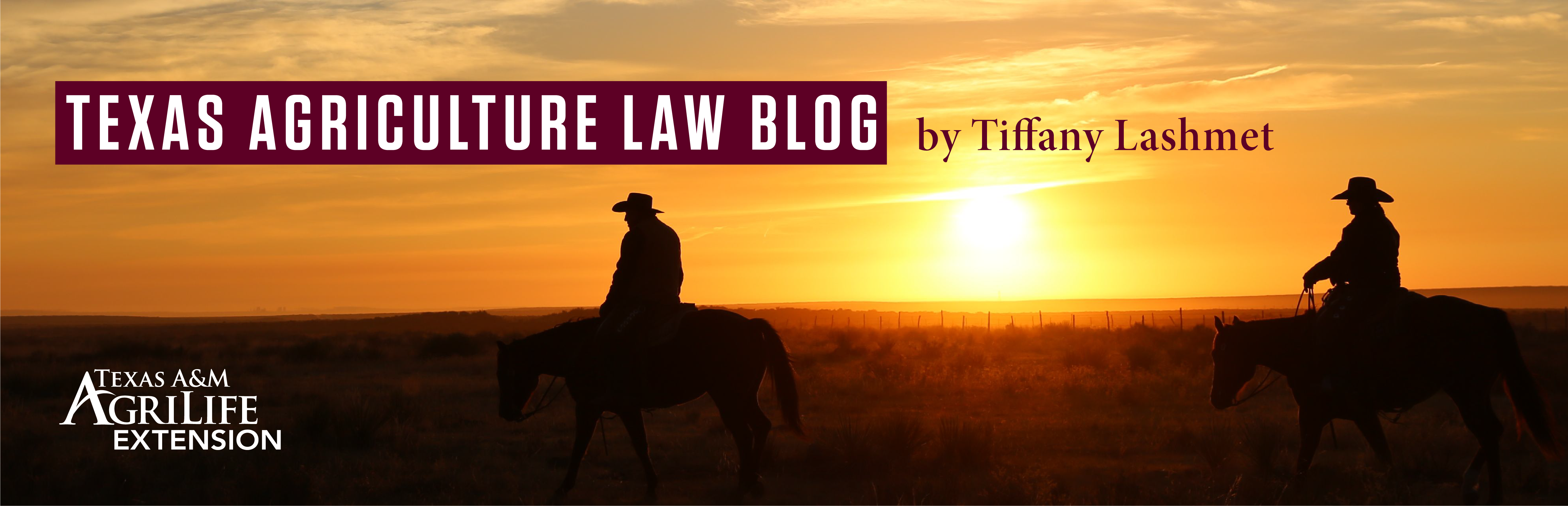 Texas Agriculture Law