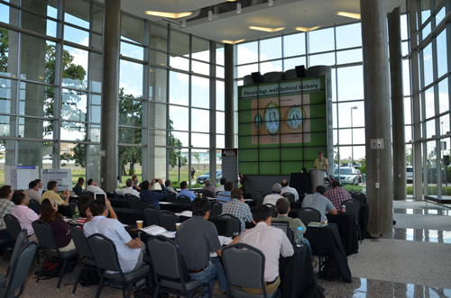 Guest lecturers speak at the 1st International Symposium on Pecans and Other Carya in Indigenous and Managed Systems